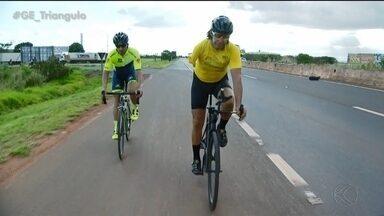 Três paratletas de Uberlândia disputam Campeonato Brasileiro de ciclismo em São Paulo - Marcos Antônio, Roberto Carlos e Eduardo Pimenta representam a cidade na competição nacional em São Carlos