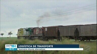 Setor produtivo discute logística de transporte do estado - Setor produtivo discute logística de transporte do estado.