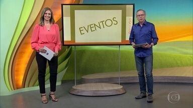 Confira os eventos do campo na semana - Simpósio sobre produção de leite em Irati, Paraná. Em Goiás, encontro das mulheres do Agro, em Cristalina, e sobre o cultivo de cannabis para uso medicinal, em Goiânia. E mais!