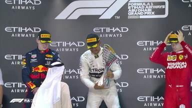 Lewis Hamilton vence o GP de Abu Dhabi, última corrida da temporada 2019 da Fórmula 1 - Lewis Hamilton vence o GP de Abu Dhabi, última corrida da temporada 2019 da Fórmula 1