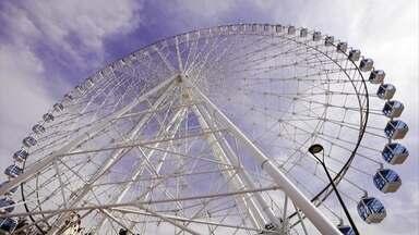 Novidade no Rio: conheça, em primeira mão, a maior roda gigante da América Latina - undefined