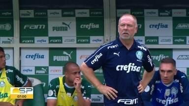Técnico e diretor do Palmeiras são demitidos após derrota para o Flamengo - Corinthians perde para o Atlético Mineiro. São Paulo perde para o Grêmio. Já o Santos venceu a Chapecoense.