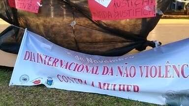 Familiares de mulher morta por ex-companheiro protestam em Ibirubá - O crime foi o primeiro feminicídio registrado na cidade.