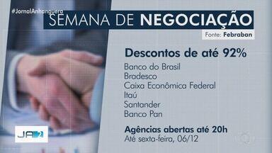 Mutirão negocia dívidas em bancos em Goiás - Descontos em juros e multas podem chegar a 92%.
