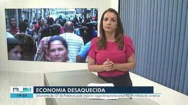Adiamento do 13º salário para servidores ativos de Campos vai impactar vagas temporárias - Atraso representa cerca de R$ 70 milhões a menos circulando na cidade neste fim de ano.