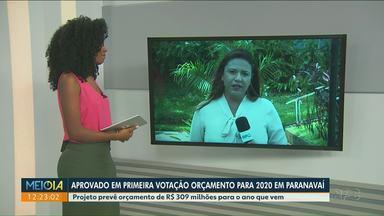 Vereadores aprovam orçamento de Paranavaí para 2020 - Primeira votação foi na segunda-feira (2). Na próxima semana, tem a segunda discussão.