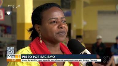 Polícia Civil investiga suposto caso de racismo contra professora em Santos Dumont - A suspeita é de que um idoso tenha chamado a mulher de 'macaca' dentro de um ônibus.