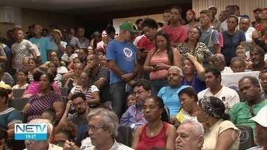 Pescadores cobram apoio para poder sobreviver após desastre com óleo no litoral - Eles participaram de audiência na Assembleia Legilslativa, no Recife