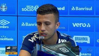 Matheus Henrique projeta partida contra o Cruzeiro nesta quinta-feira (5) - Tricolor recebe os mineiros na Arena.