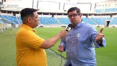 Freire Neto narra final do Super Matutão na Inter TV Cabugi e no GloboEsporte.com - Freire Neto narra final do Super Matutão na Inter TV Cabugi e no GloboEsporte.com