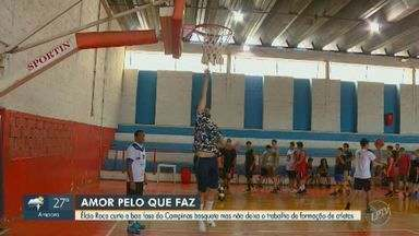 Élcio Roca curte boa fase do Campinas basquete e mira trabalho de formação de atletas - Equipe começa nesta quinta-feira (5) a disputa por uma vaga na decisão do estadual.