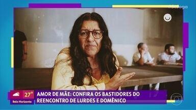 Gshow no 'Se Joga' 05/12: bastidores do reencontro de Lurdes e Domênico - Em 'Bom Sucesso', Alberto questiona Marcos pelo fim do namoro com Paloma