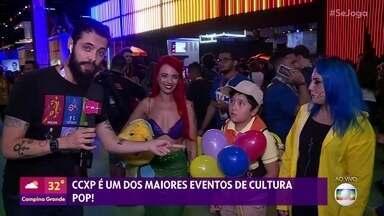 Cauê Fabiano mostra o que está rolando na CCXP 2019 - Um dos maiores eventos de cultura pop do mundo acontece em São Paulo