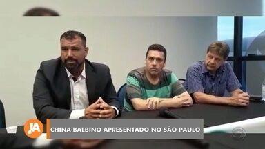 China Balbino é apresentado no São Paulo de Rio Grande - Assista ao vídeo.