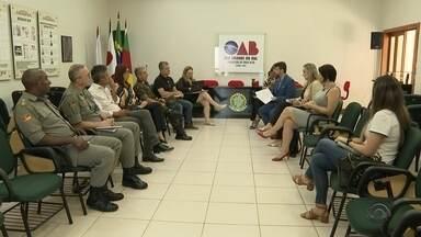Em Cruz Alta, audiência debate segurança pública - Entre as demandas foi discutido o aumento do número das câmeras de vigilância.