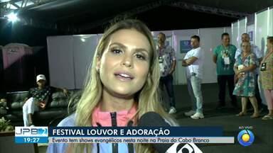 JPB2JP: BLOCO 2: Entrevista com Aline Barros - Uma das atrações do Festival Louvor e Adoração.