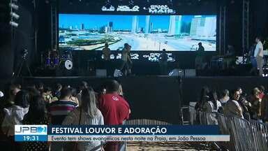 Segunda noite do festival louvor e adoração acontece em João Pessoa - Programação vai reunir cantores evangélicos.