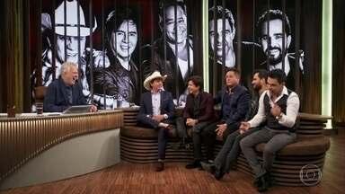 'Amigos' contam como é feita a seleção de repertório do show - Eles falam um pouco sobre a nova turnê