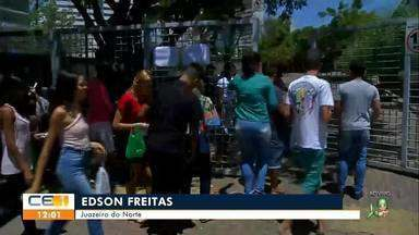 Candidatos concorrem a 1.250 vagas para vestibular da URCA - Saiba mais em g1.com.br/ce
