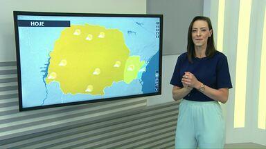 Previsão de sol e temperaturas mais altas para este sábado no Oeste do estado - No domingo o sol também aparece entre nuvens. Na segunda-feira podem ocorrer pancadas de chuva.