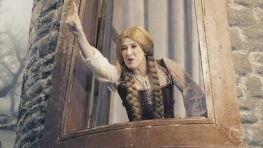Rapunzel, jogue suas tranças I - É transa que chama?