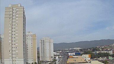 Previsão do Tempo: Chuva deve chegar ao Alto Tietê nesta segunda-feira - Previsão aponta pancadas de chuva entre a tarde e a noite na região.