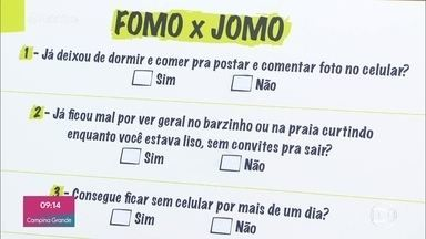 """Fomo"" e ""Jomo"": conheça os comportamentos típicos da Era Digital - ""Joy of missing out"" e ""Fear os missing out"" caracterizam comportamentos de usuários das redes sociais"