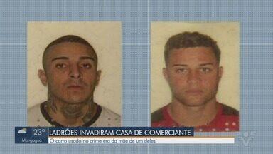 Ladrões invadem casa de comerciante em São Vicente e roubam jóias e dinheiro - Polícia foi avisada e prendeu dois dos quatro criminosos envolvidos.
