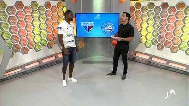 Autor do gol da virada diante do Bahia, Tinga participa ao vivo do Globo Esporte - undefined