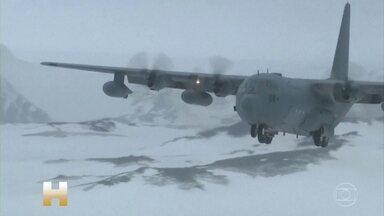 Avião da Força Aérea do Chile desaparece com 38 pessoas a bordo - Governo brasileiro enviou navio para a região da Antártida, onde avião pode ter se acidentado.
