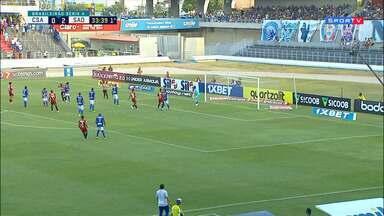 CSA 1 x 2 São Paulo