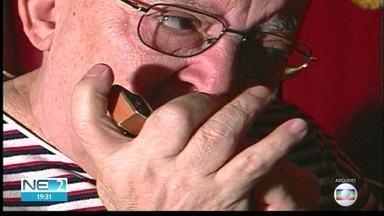 Jehovah da Gaita é enterrado no Recife - Ele foi um dos maiores instrumentistas de Pernambuco.