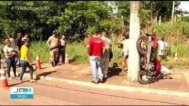 Motociclista que morreu em batida será enterrado em Gurupi - Motociclista que morreu em batida será enterrado em Gurupi