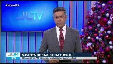 Operação do MPPA investiga esquema de fraudes com serviços médicos em Tucuruí, no PA - Documentos foram apreendidos na sede da prefeitura da cidade e nas secretarias de Saúde e Administração.