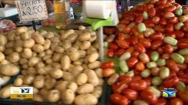 Veja os preços das frutas e verduras na Ceasa em São Luís - Variação de preços das frutas e hortaliças está acontecendo nesta quarta-feira (11) na capital.