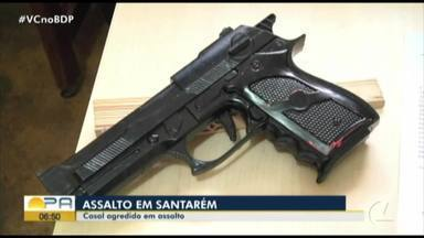 Casal é agredido em assalto em Santarém - Casal é agredido em assalto em Santarém