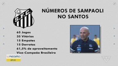 Jorge Sampaoli não é mais técnico do Santos - Relação quebrada com Peres, preocupação com montagem do elenco e investimento reduzido foram motivos que fizeram técnico deixar o time.