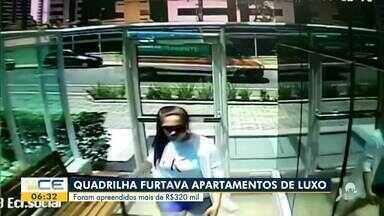 Mulher é presa suspeita de furtar apartamentos de luxo - Saiba mais em g1.com.br/ce
