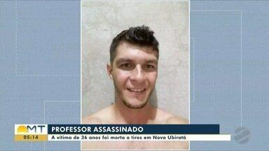 Professor de 36 anos é assassinado a tiros em Nova Ubiratã - Professor de 36 anos é assassinado a tiros em Nova Ubiratã
