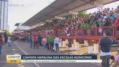 Mais de mil alunos vão se apresentar na Cantata Natalina das Escolas - Mais de mil alunos vão se apresentar na Cantata Natalina das Escolas