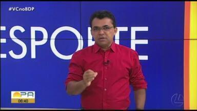 Carlos Ferreira comenta os destaques do esporte paraense nesta quarta-feira (11) - Carlos Ferreira comenta os destaques do esporte paraense nesta quarta-feira (11)