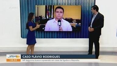 MP determina busca e apreensão em casas de pessoas ligadas a Alejandro Valeiko - Acompanhe os detalhes.