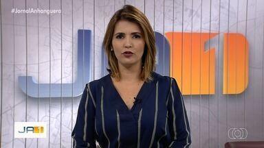 Veja os destaques do Jornal Anhanguera 1ª Edição desta quarta-feira (11) - Acidente na BR-060 deixa dois mortos. Vídeo mostra quando vítimas são atingidas por carro.