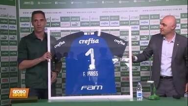 Veja como foi a despedida de Fernando Prass do Palmeiras - Veja como foi a despedida de Fernando Prass do Palmeiras
