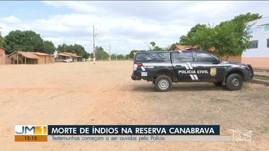 Polícia Civil ouve testemunhas do atentado contra índios Guajajaras no Maranhão - Dois caciques foram mortos na BR-226, que atravessa a área da reserva.