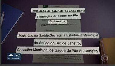 Deputados federais querem criar gabinete de crise para monitorar crise na saúde no Rio - Na Zona Oeste, as Clínicas da Família estão sem médicos. A prefeitura do Rio foi pedir socorro ao Governo Federal.