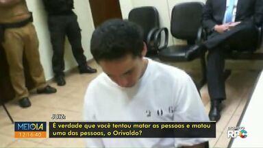 Exclusivo: autor de facadas em pensionato é interrogado - Ele disse à Justiça que atacou estudantes para se defender.