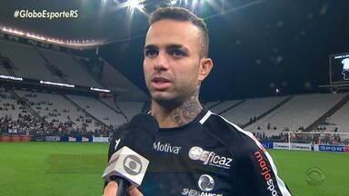 Luan fala sobre o interesse do Corinthians em seu futebol para 2020 - Assista ao vídeo.