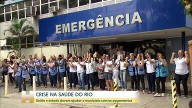 Greve continua nas unidades de saúde do Rio administradas por Organizações Sociais - Prefeito Marcelo Crivella pediu ajuda ao governo federal, presidente Jair Bolsonaro disse que vai ajudar