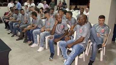 Tupynambás apresenta elenco para o Campeonato Mineiro - Clube de Juiz de Fora mostrou jogadores ao público em evento na noite desta terça-feira